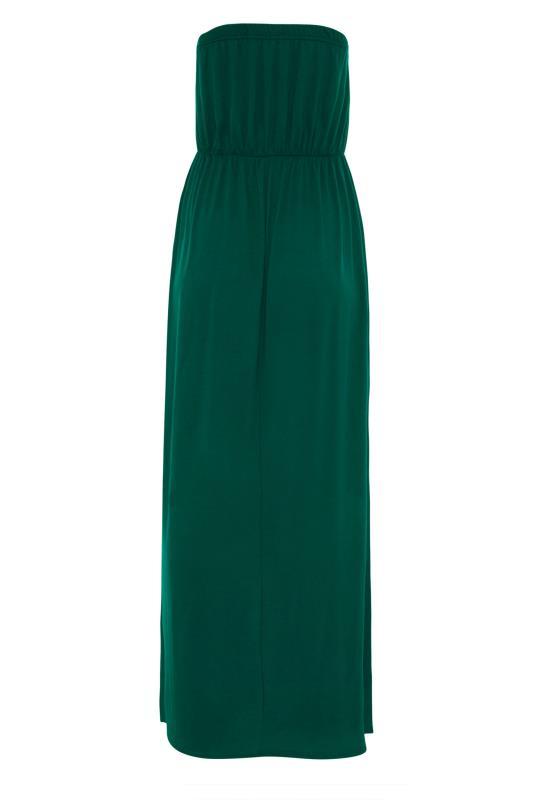 LTS Emerald Green Strapless Maxi Dress_BK.jpg