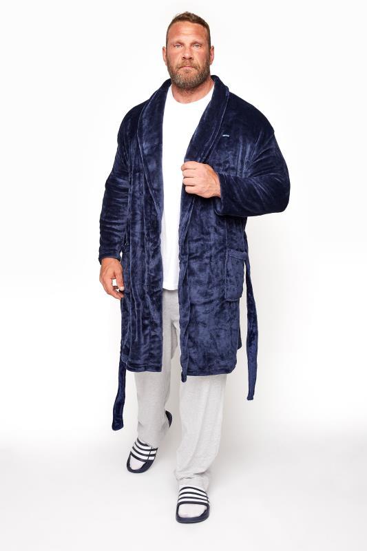 BadRhino Navy Soft Dressing Gown