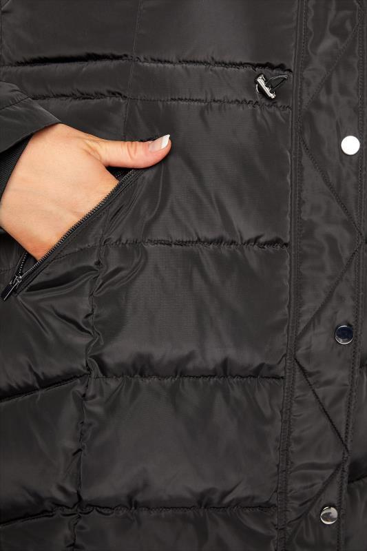 Black Chevron Midi Puffer Coat_D.jpg