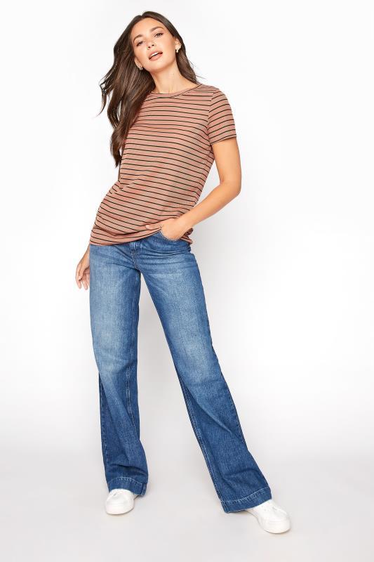 LTS Rust Stripe Rib T-Shirt_B.jpg