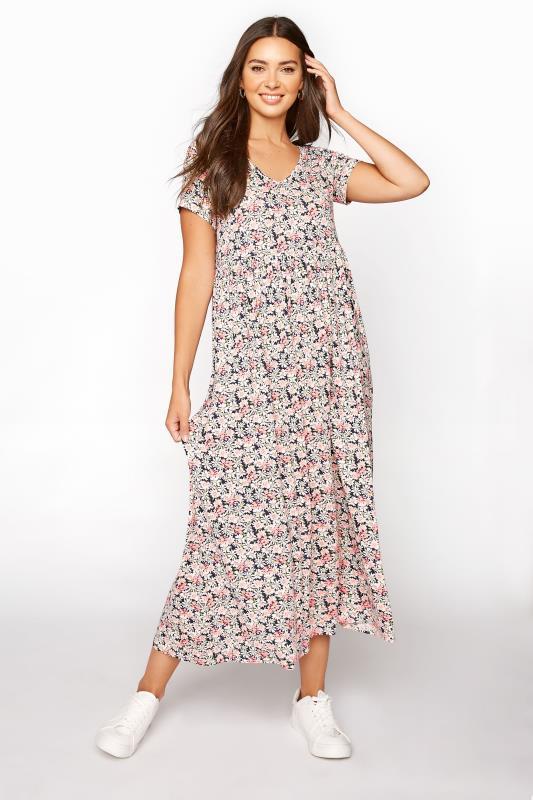 LTS White Daisy Print Midi Dress_A.jpg