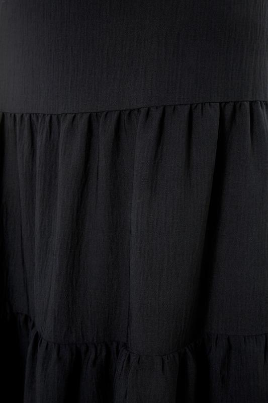 THE LIMITED EDIT Black Tiered Smock Maxi Skirt_S.jpg