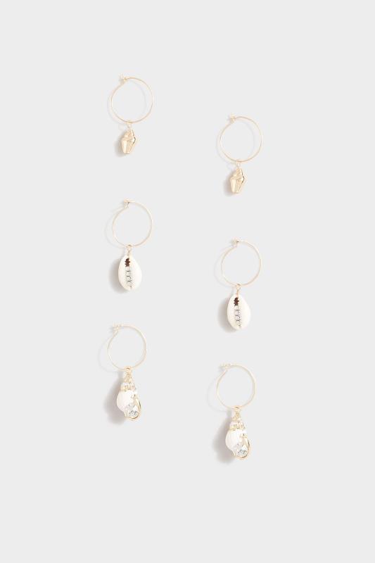 3 Pack Gold Shell Earrings_A.jpg