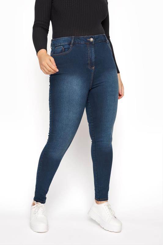 Skinny Jeans Grande Taille Indigo Blue Skinny Stretch AVA Jeans