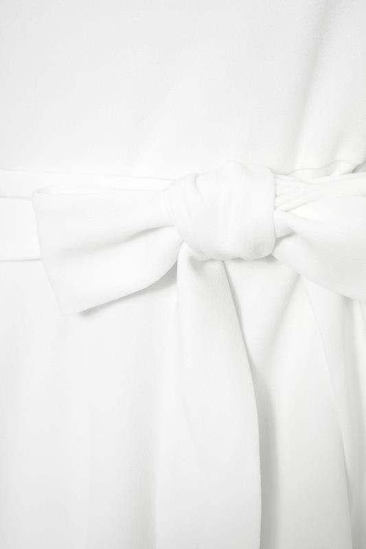 YOURS LONDON White Frill Statement Sleeve Peplum Top_S.jpg