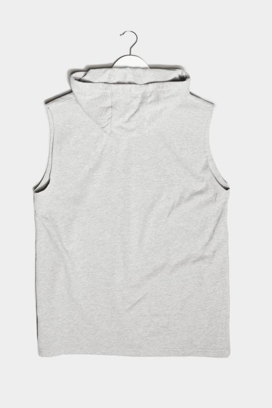 BadRhino Grey Marl Essential Sleeveless Hoodie_BK.jpg
