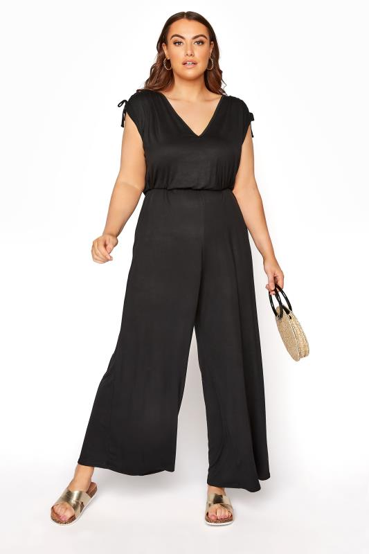 Plus Size  LIMITED COLLECTION Black Jumpsuit