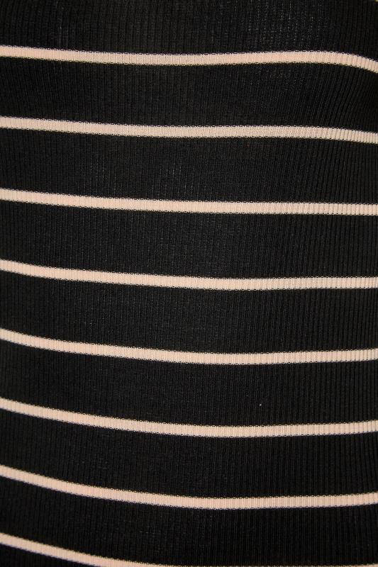 LTS Black Square Neck Stripe T-Shirt_S.jpg