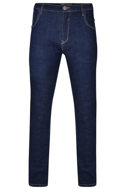 Men's  KAM Indigo Javier Straight Leg Jeans
