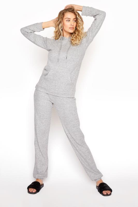 LTS Grey Soft Touch Rib Jogger