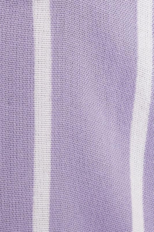 Lilac Striped Oversized Drop Shoulder Shirt_s.jpg