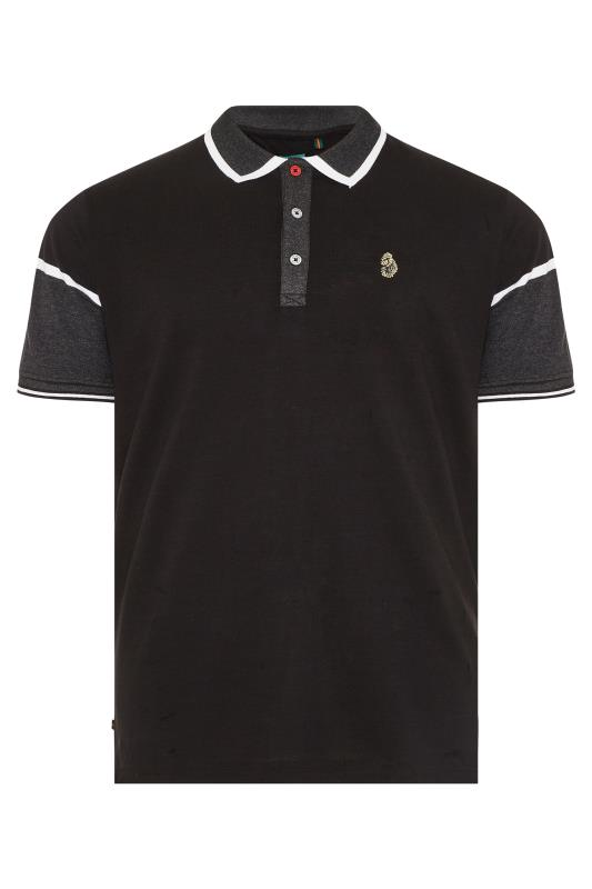 Tallas Grandes LUKE 1977 Black Boyo Polo Shirt