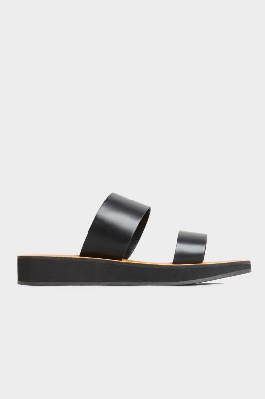 LTS Black Two Strap Flat Sandals_A.jpg