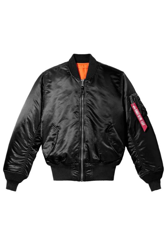 Jackets Tallas Grandes ALPHA INDUSTRIES Black MA-1 Bomber Jacket