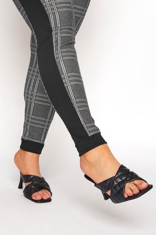 Black and White Side Stripe Scuba Trousers_E.jpg
