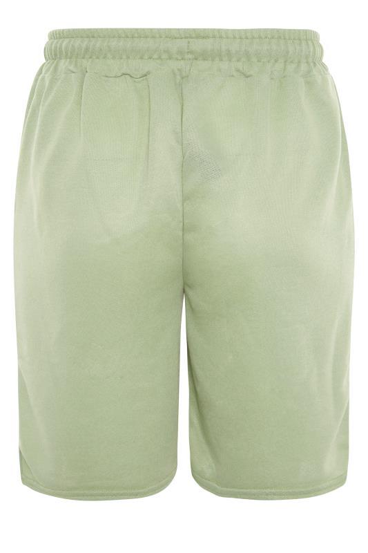 Sage Green Jersey Jogger Shorts_BK.jpg