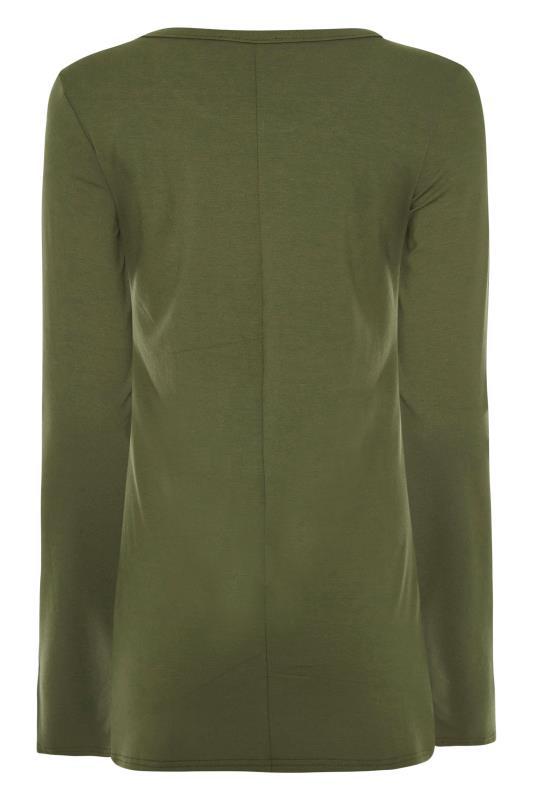 LTS Khaki Long Sleeve T-Shirt_BK.jpg