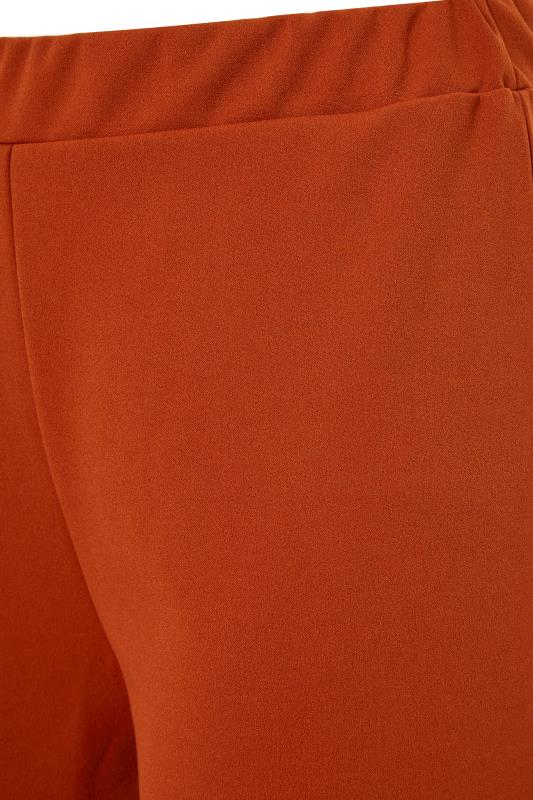 YOURS LONDON Rust Wide Leg Culottes_S.jpg