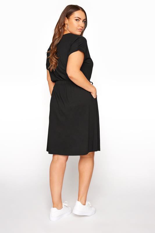 Black Jersey T-Shirt Mini Dress_C.jpg