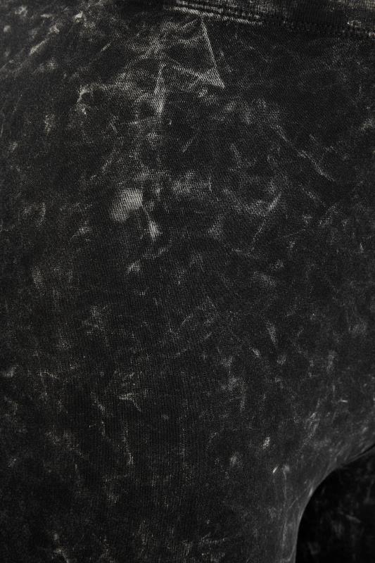 Black Acid Wash Cotton Leggings_S.jpg