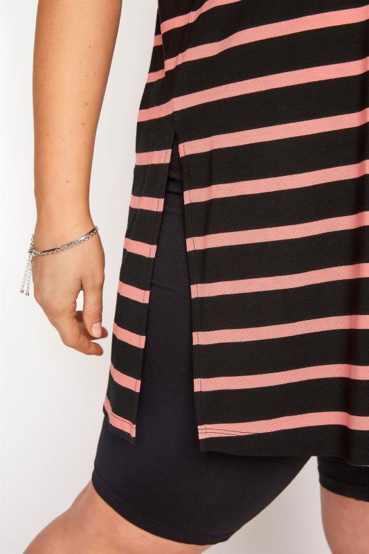 Black Oversized Stripe T-Shirt_D.jpg