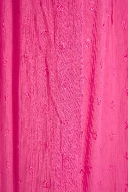 Hot Pink Dobby Bardot Top_s.jpg