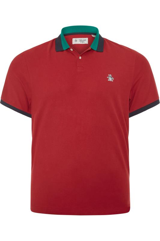 PENGUIN MUNSINGWEAR Red Polo Shirt