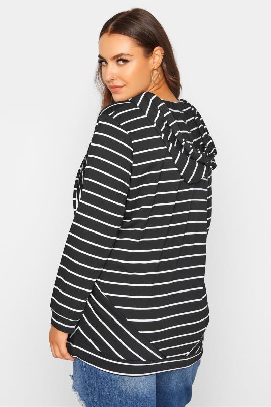Black Asymmetric Stripe Hoodie_C.jpg