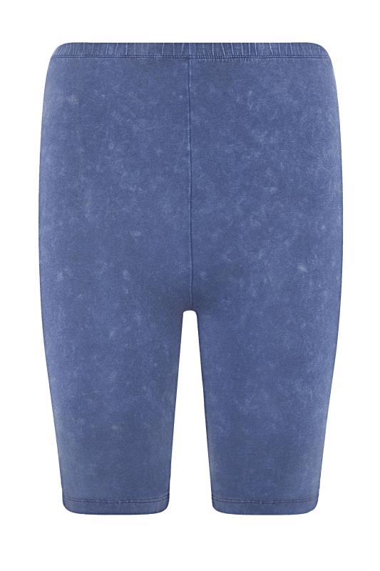 Blue Acid Wash Cycling Shorts_F.jpg
