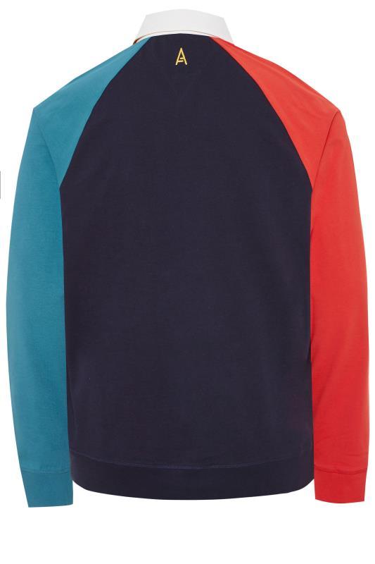 STUDIO A Multi Long Sleeve Rugby Shirt