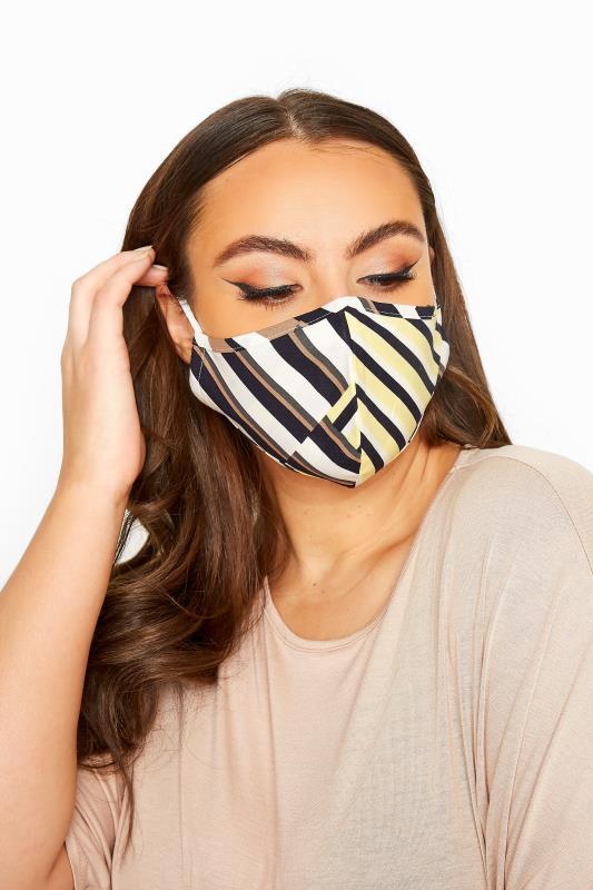 Plus Size  Multi Geometric Antibacterial Face Mask