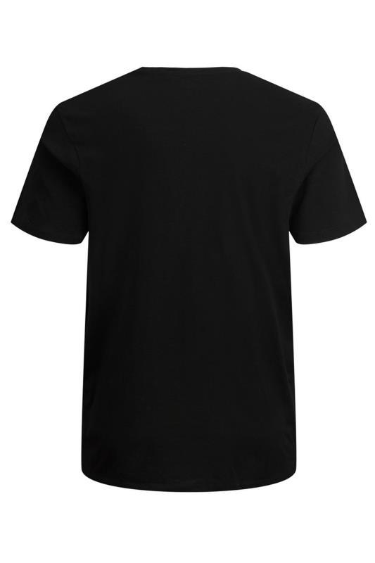 JACK & JONES Black Camo Logo T-Shirt_BK.jpg