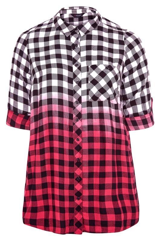 Pink Ombre Check Boyfriend Shirt_F.jpg