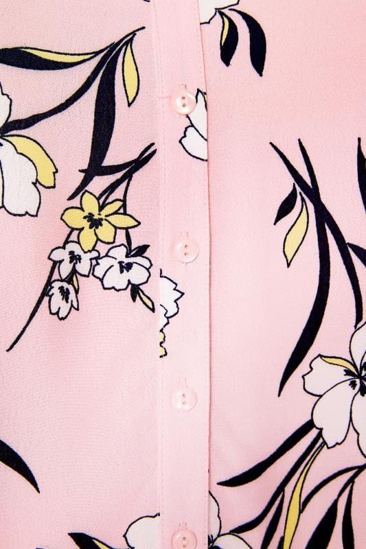 Size Up Hemd mit Knopfleiste - Rosa