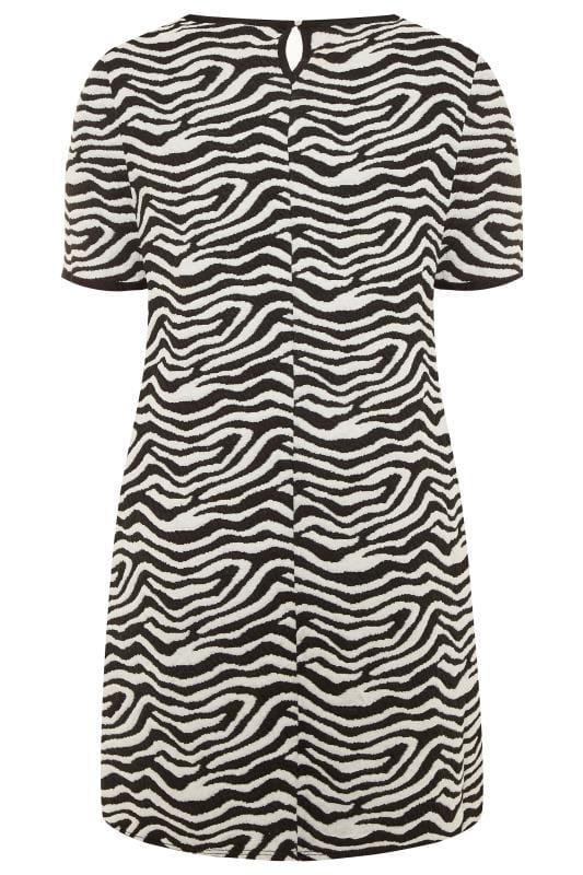 Black & White Zebra Print Tunic