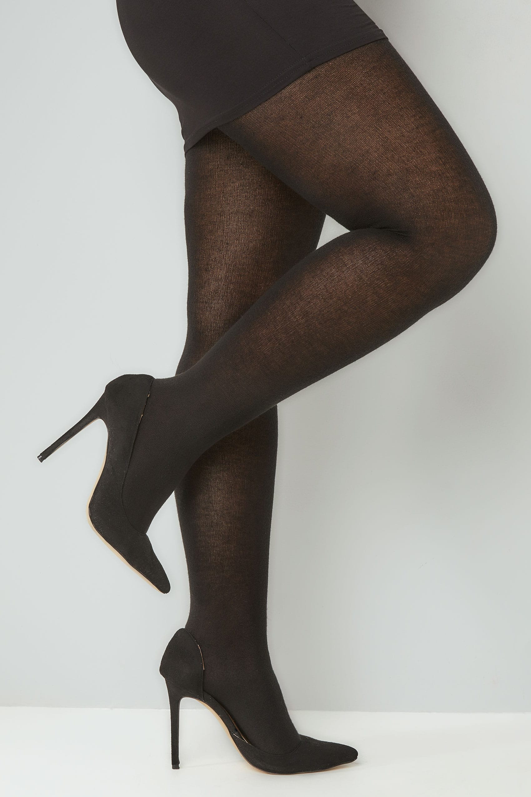united states top-rated exquisite craftsmanship Black 200 Denier Super Soft Thick Tights