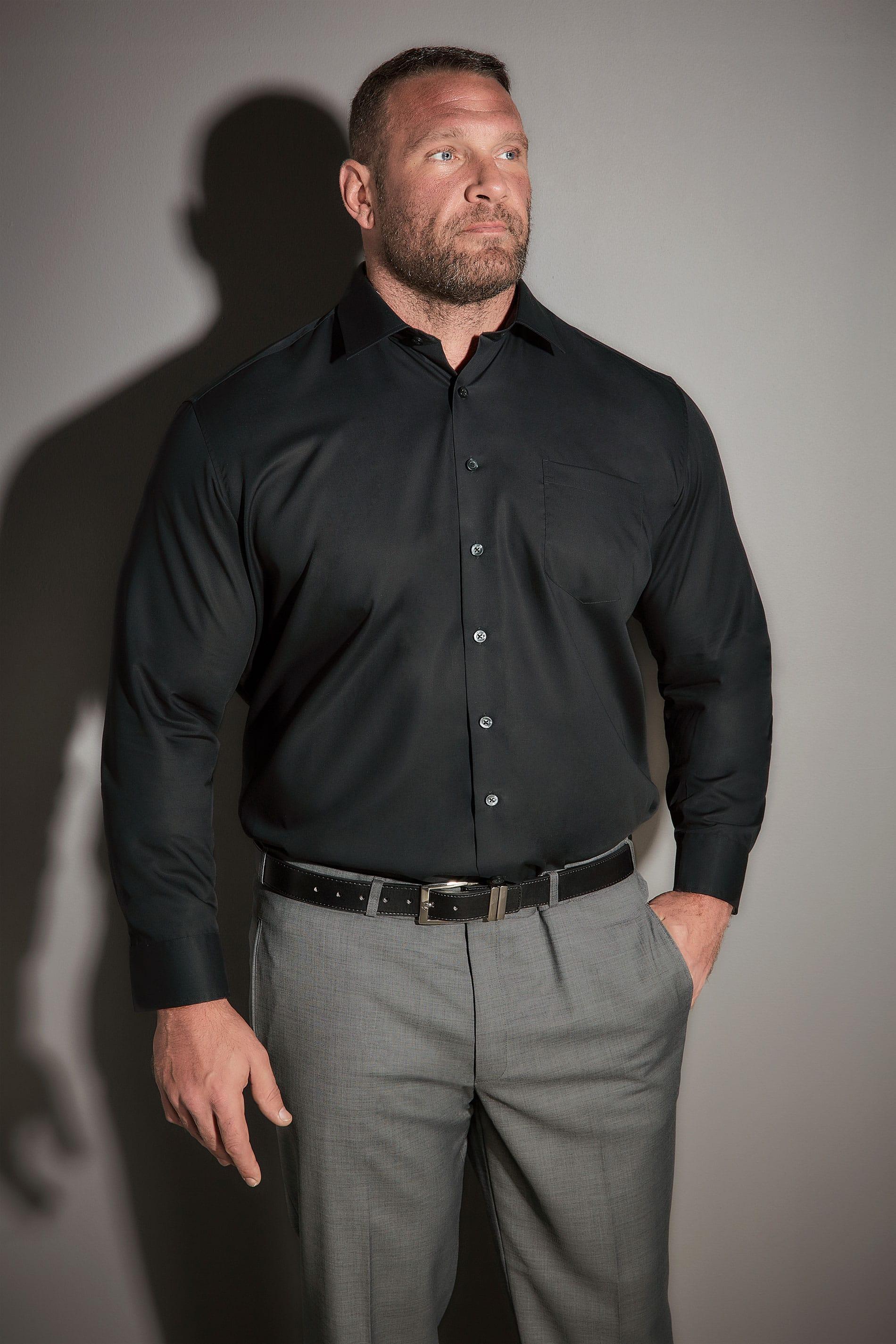 JP 1880 Black Comfort Fit Shirt