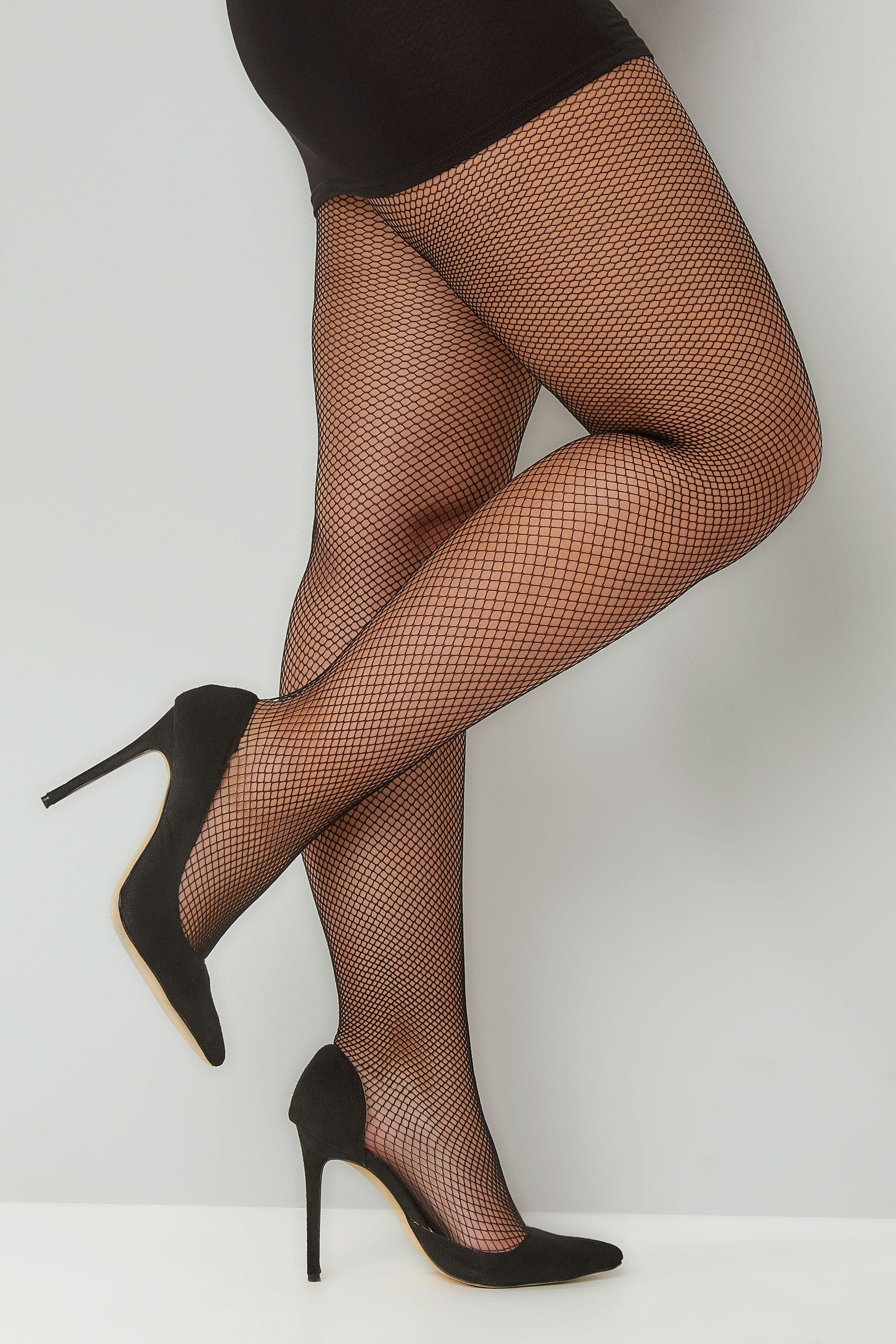 Collants Résille Noir