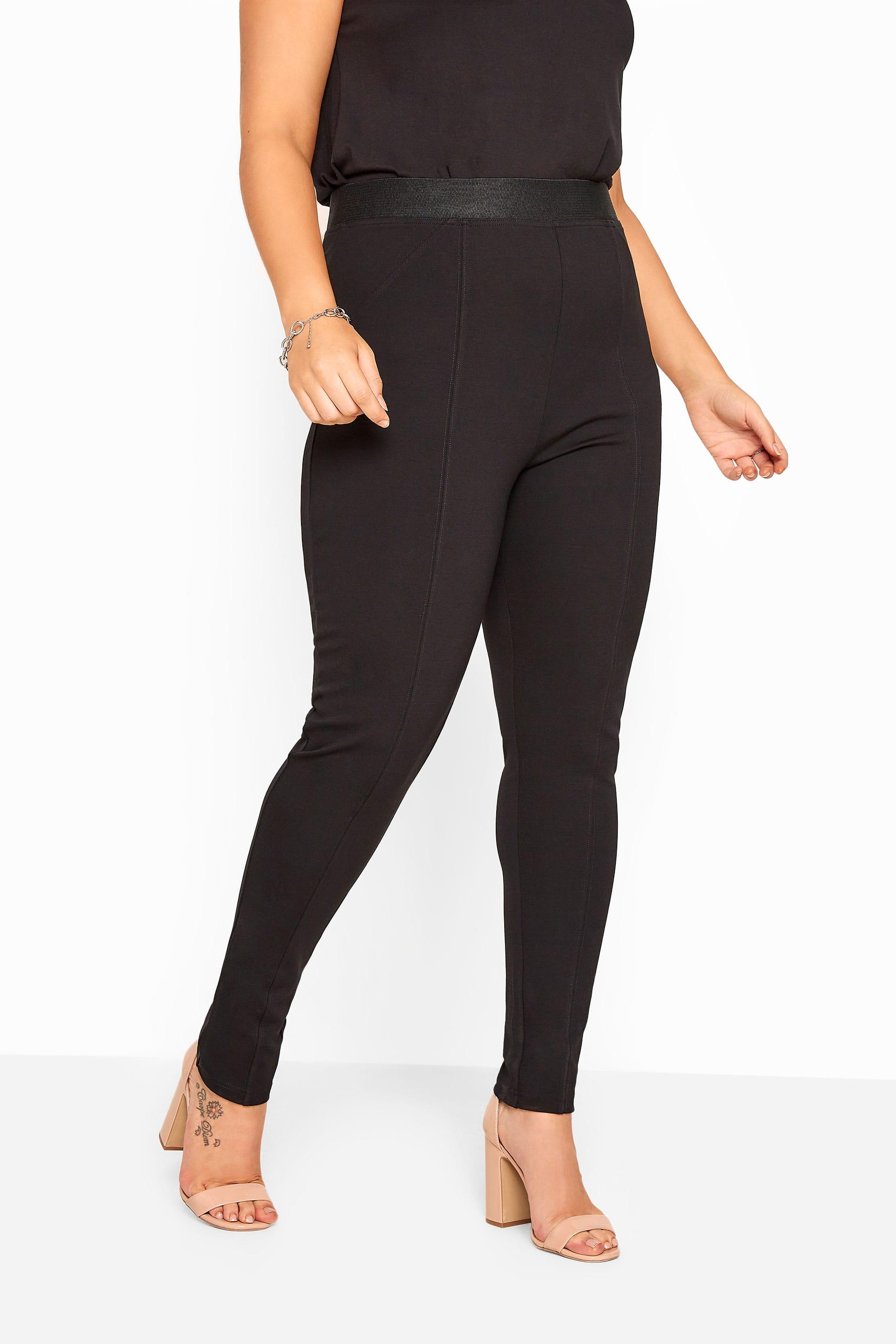 Bestseller Black Ponte Premium Stretch Trousers_9e9d.jpg