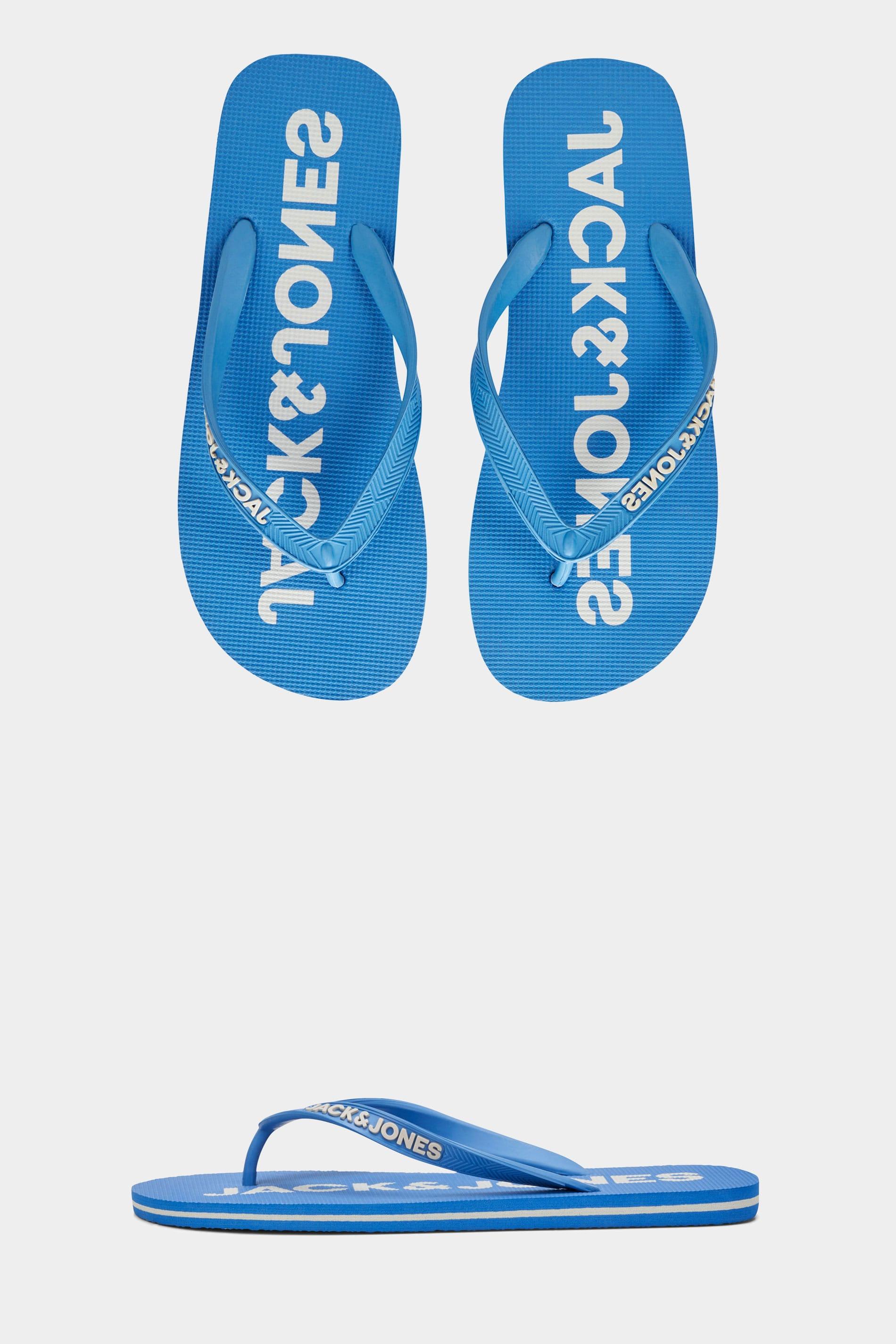 JACK & JONES Blue Flip Flops