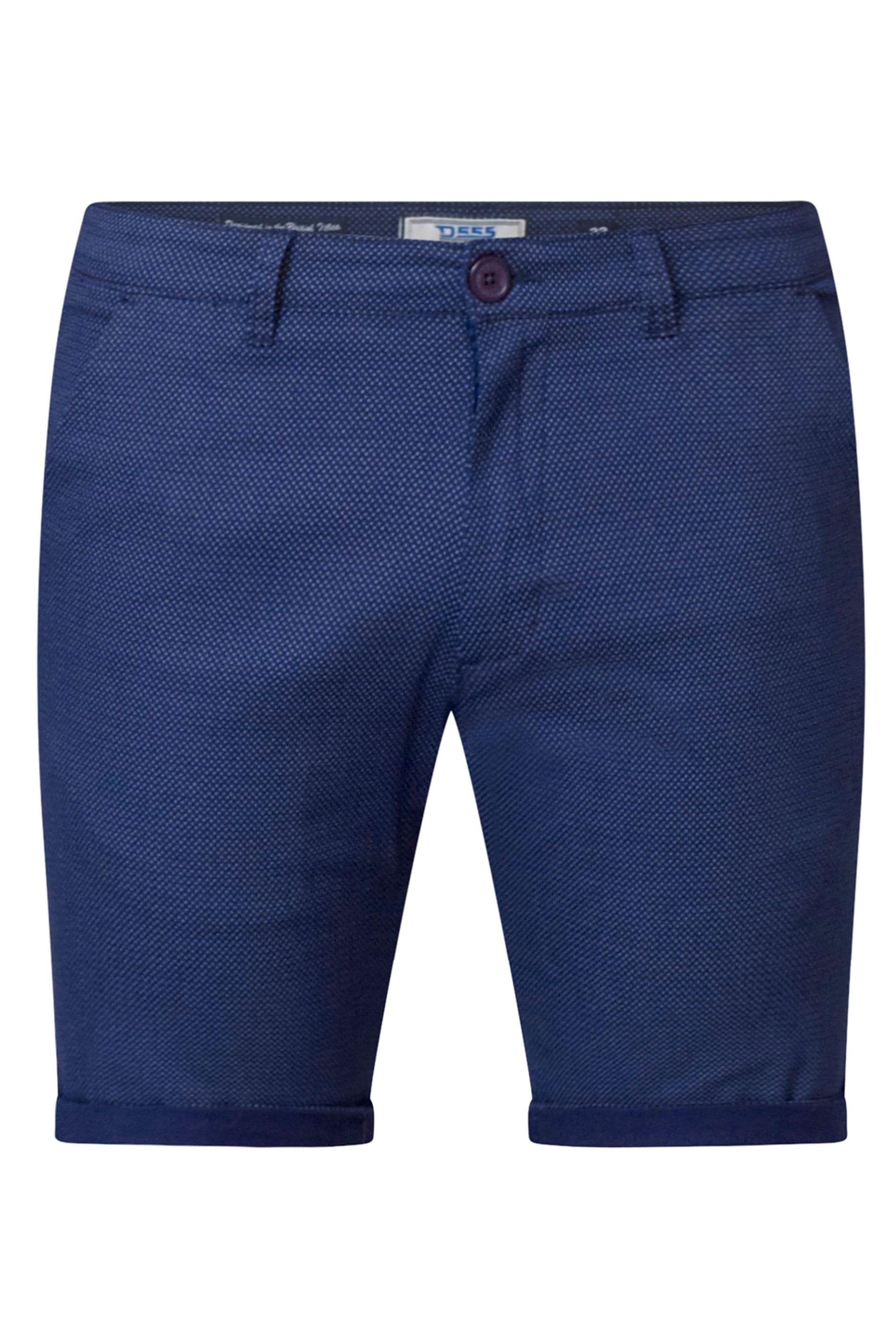 D555 Navy Chino Shorts