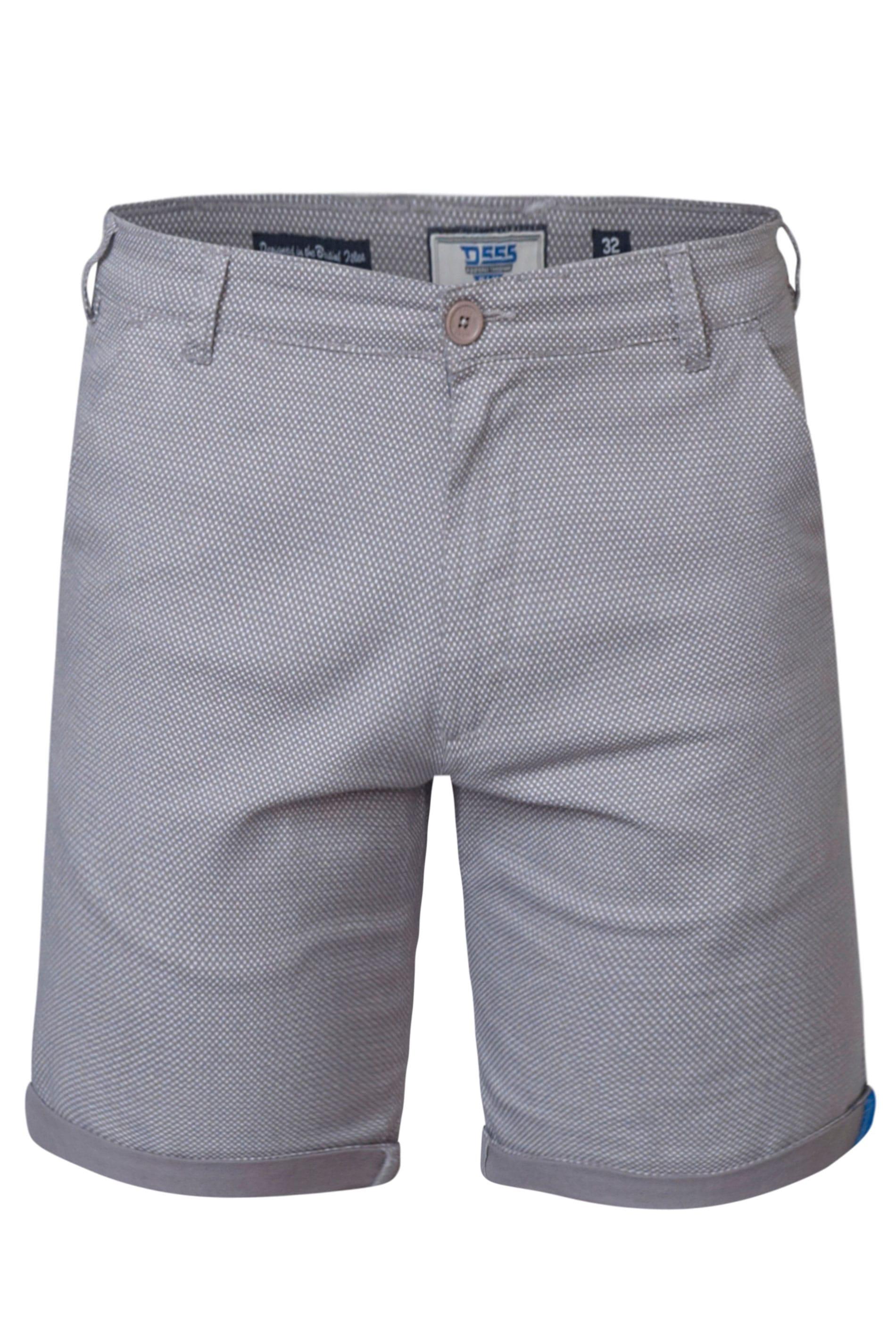 D555 Grey Chino Shorts