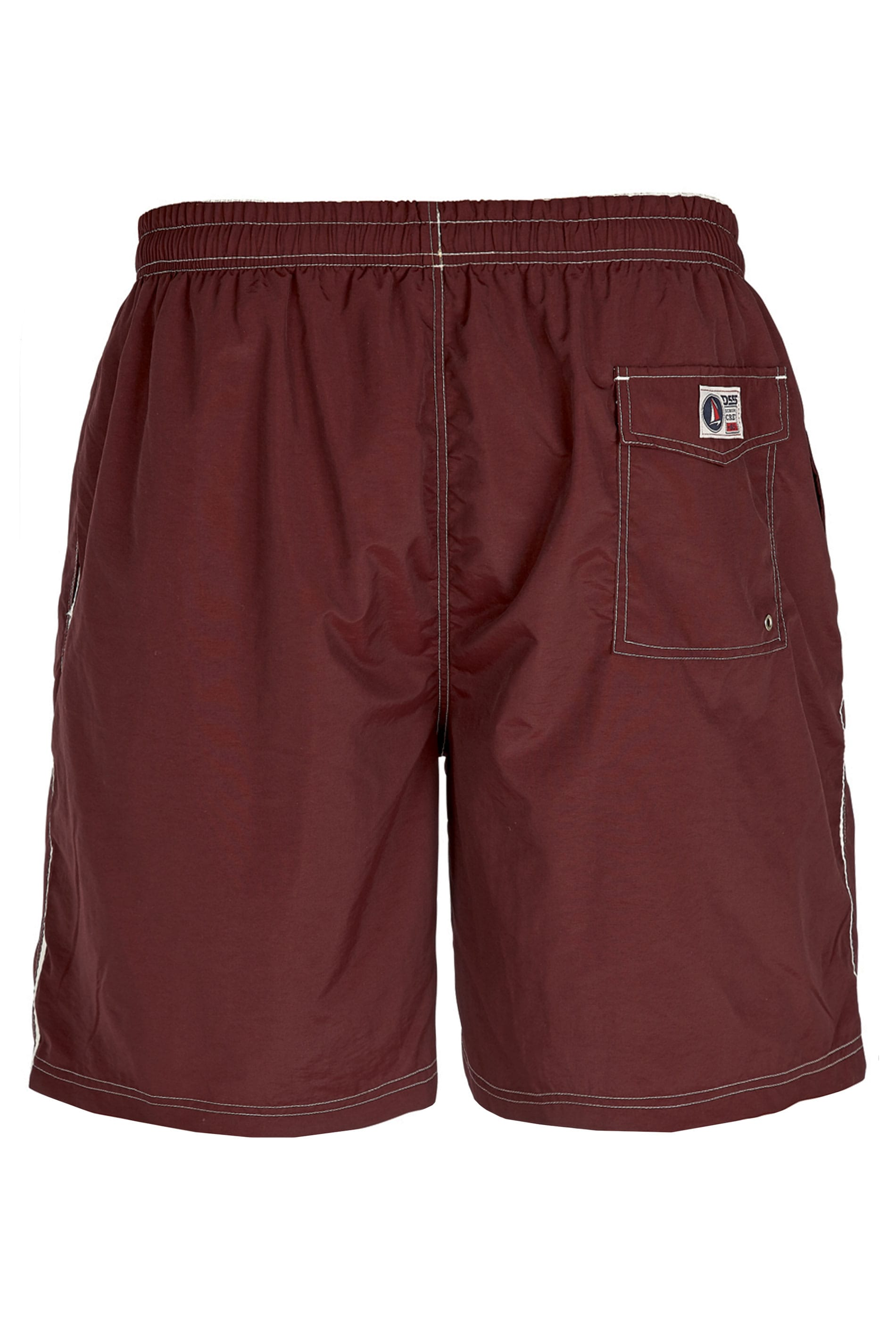 D555 Burgundy Swim Shorts