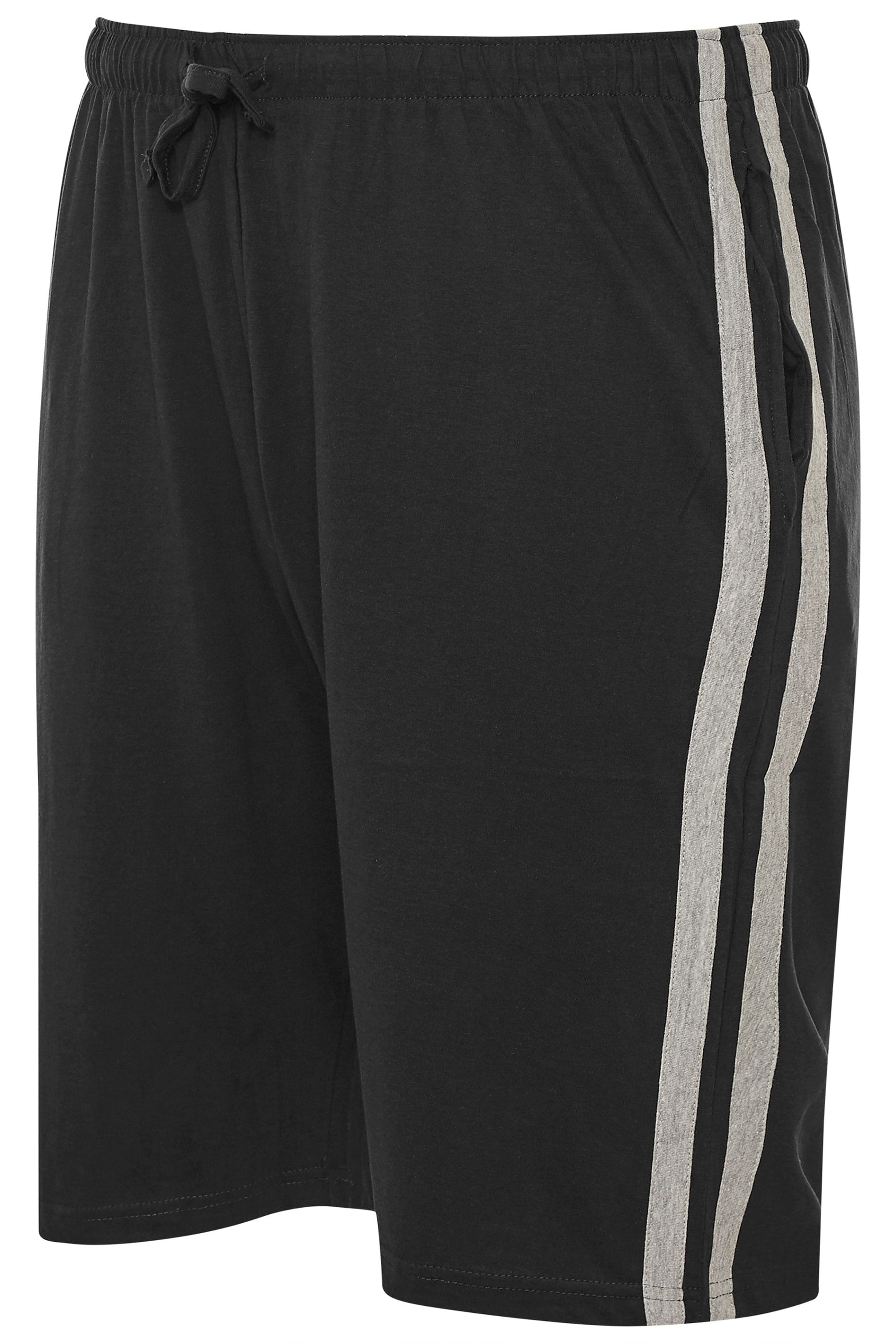 ED BAXTER Black Lounge Jogger Shorts