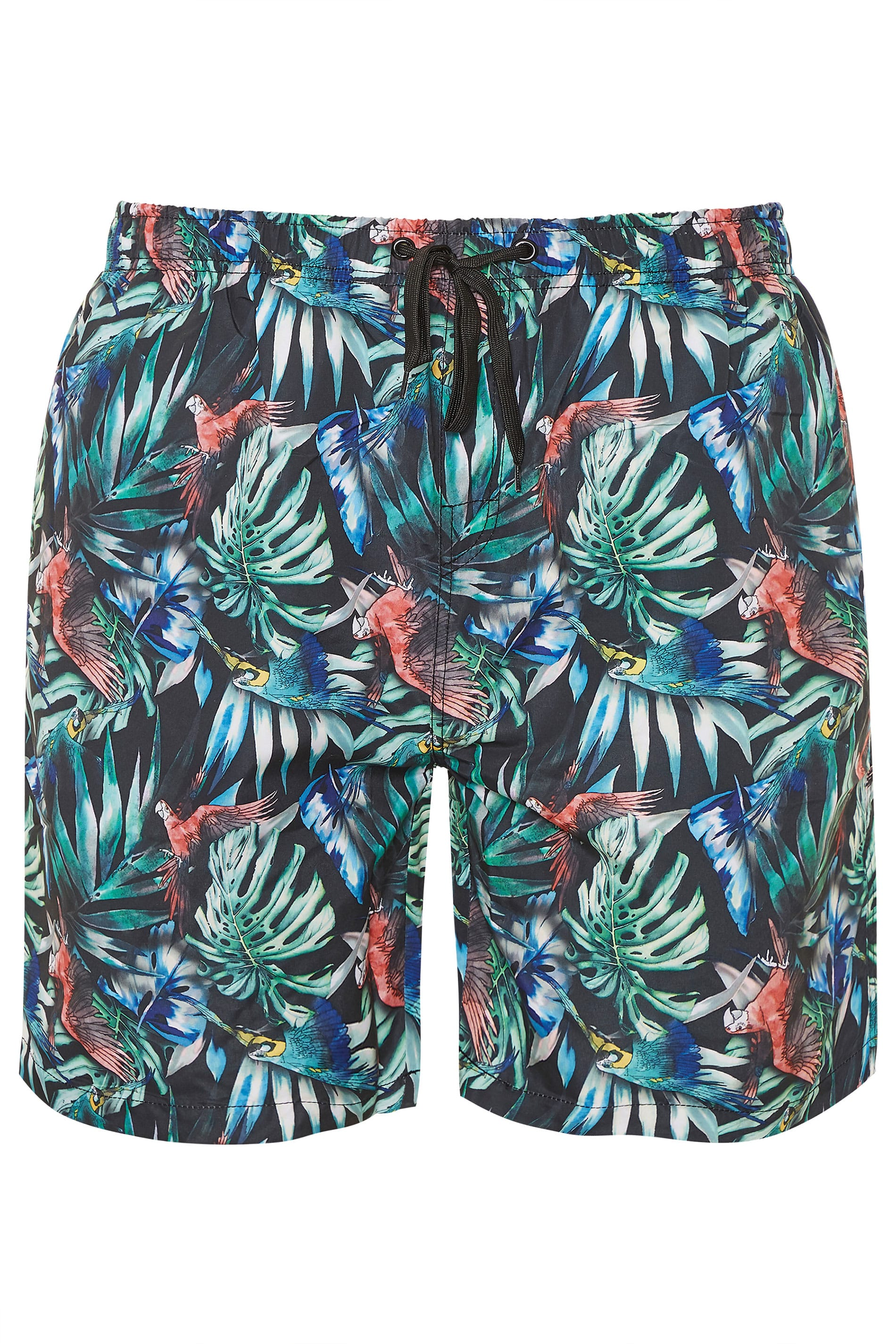 ED BAXTER Multi Tropical Print Swim Shorts