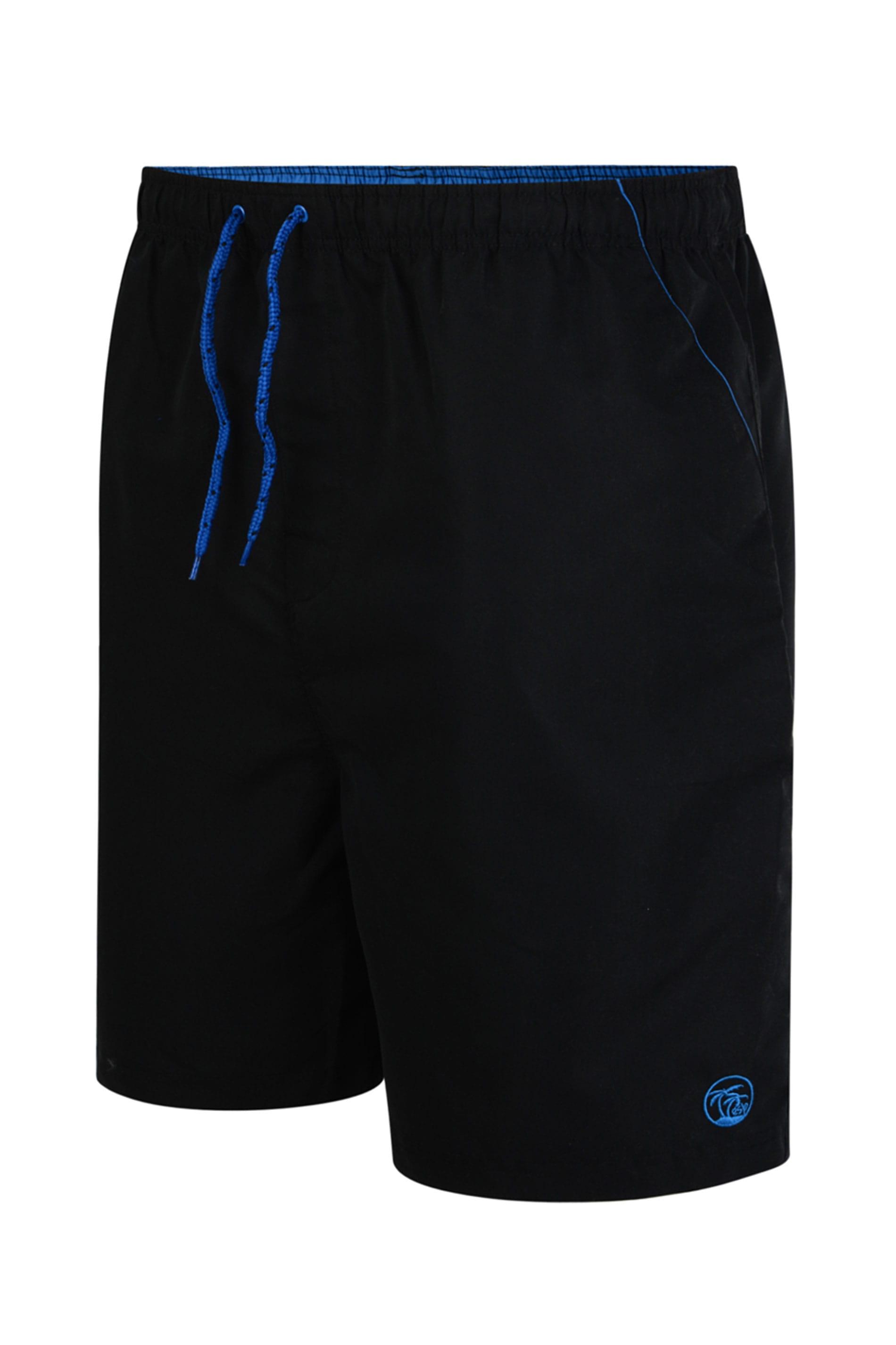 ESPIONAGE Black Swim Shorts