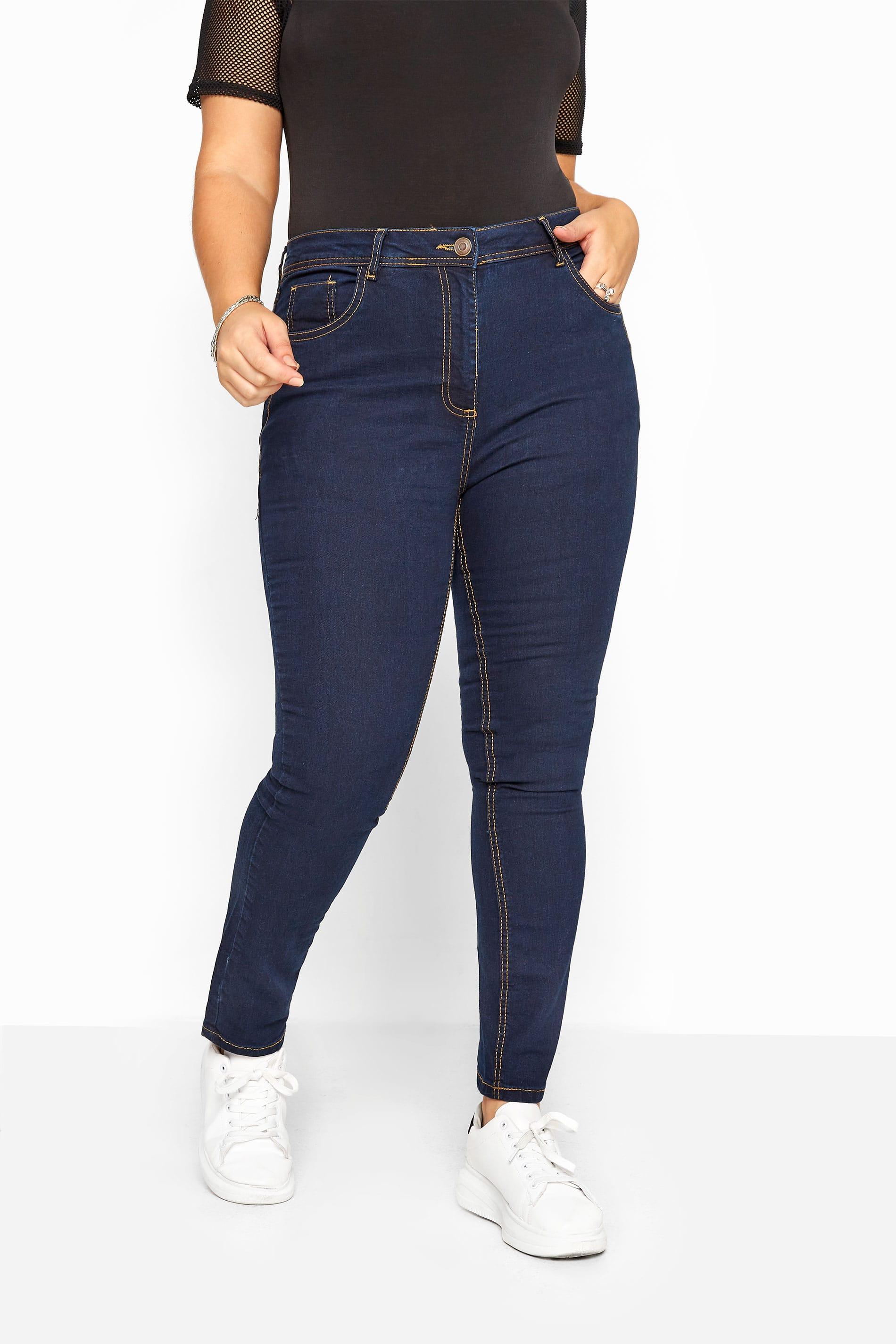 RUBY Jeans mit geradem Bein - Indigoblau