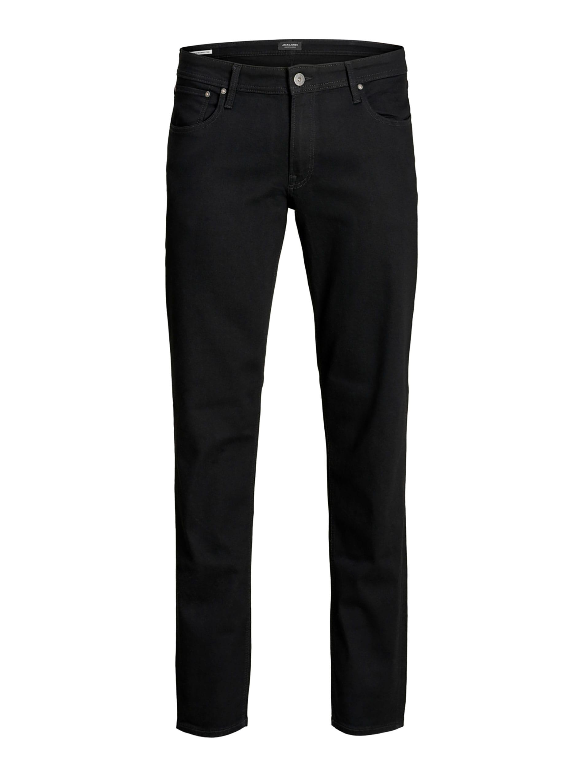 JACK & JONES Black Original Straight Leg Jeans