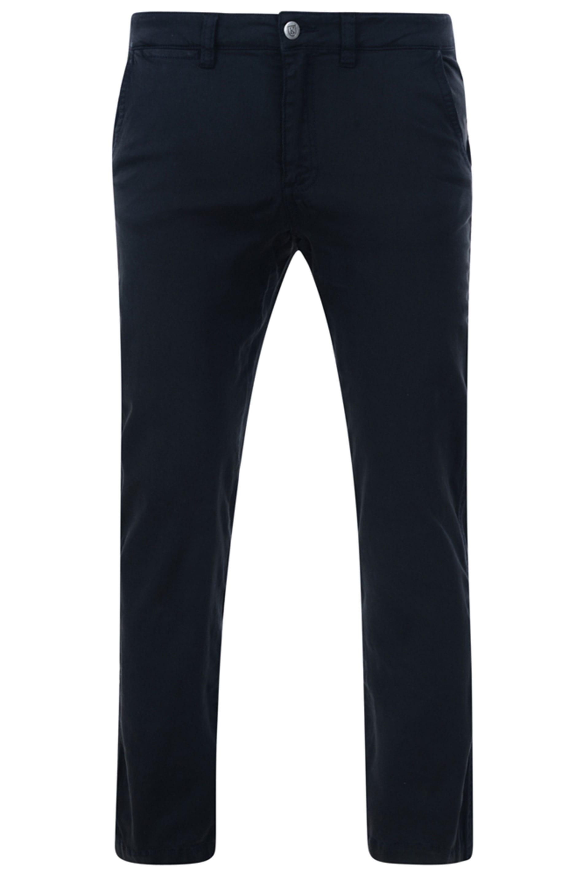 KAM Navy Chino Trousers_a83a.jpg