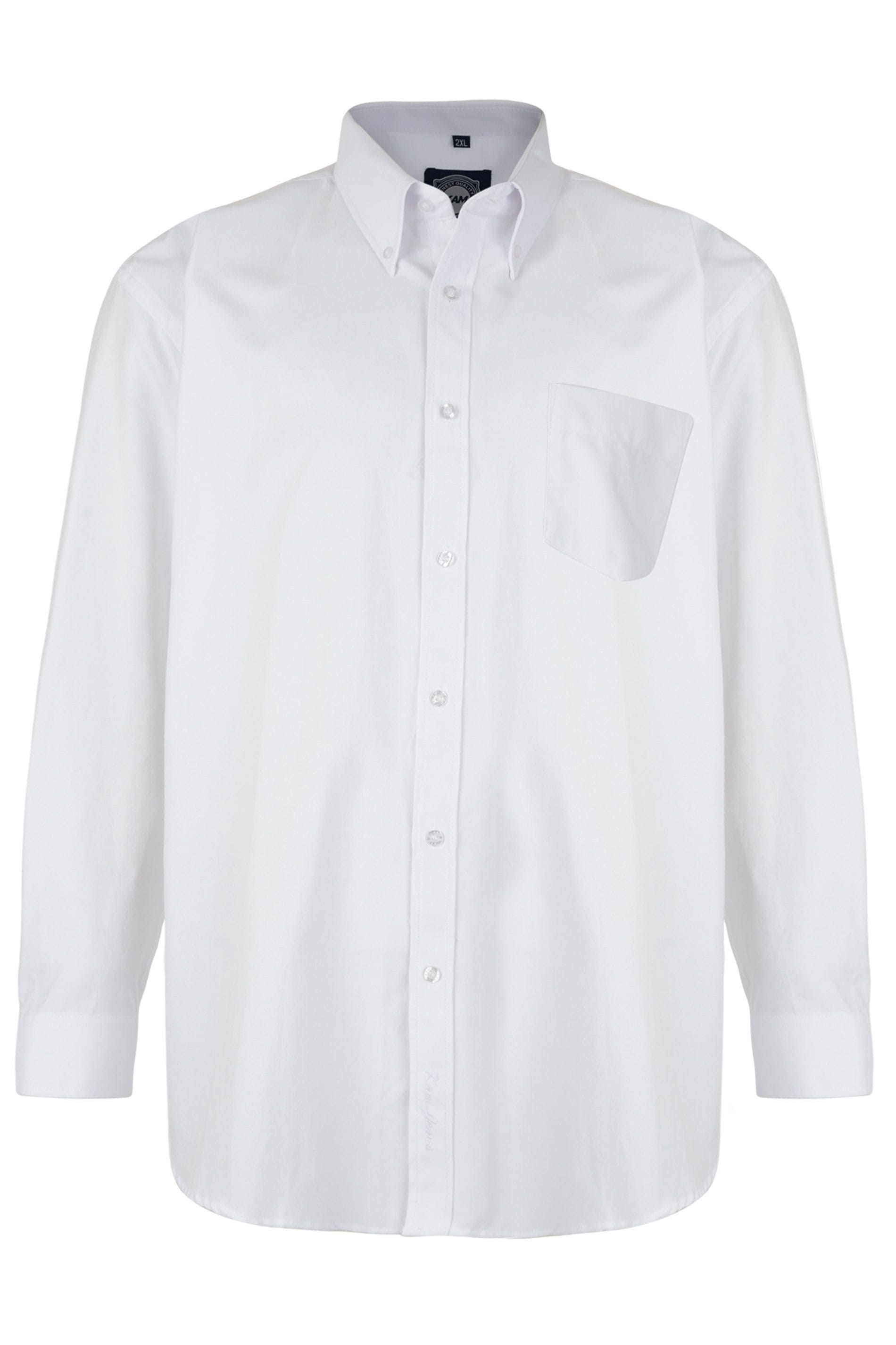 KAM White Oxford Long Sleeve Shirt